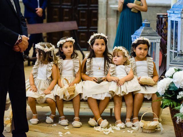 La boda de Cristina y Diego en Monforte de Lemos, Lugo 43