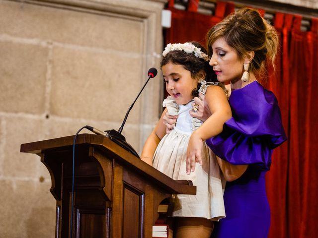 La boda de Cristina y Diego en Monforte de Lemos, Lugo 52