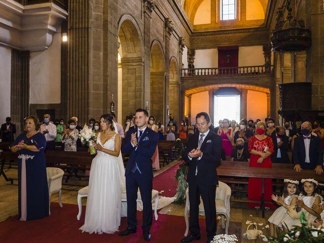 La boda de Cristina y Diego en Monforte de Lemos, Lugo 53
