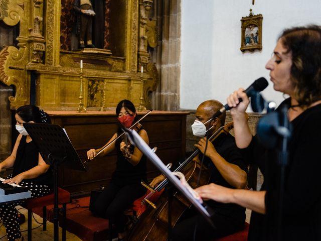 La boda de Cristina y Diego en Monforte de Lemos, Lugo 54