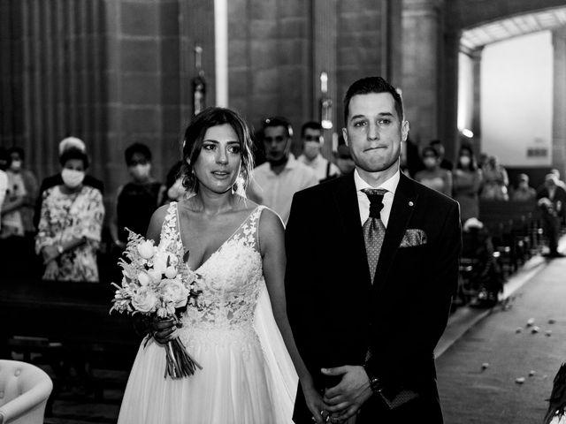 La boda de Cristina y Diego en Monforte de Lemos, Lugo 59