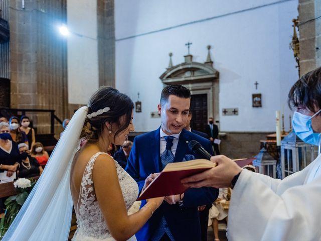 La boda de Cristina y Diego en Monforte de Lemos, Lugo 60