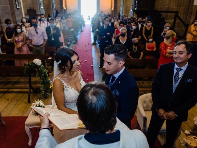 La boda de Cristina y Diego en Monforte de Lemos, Lugo 63