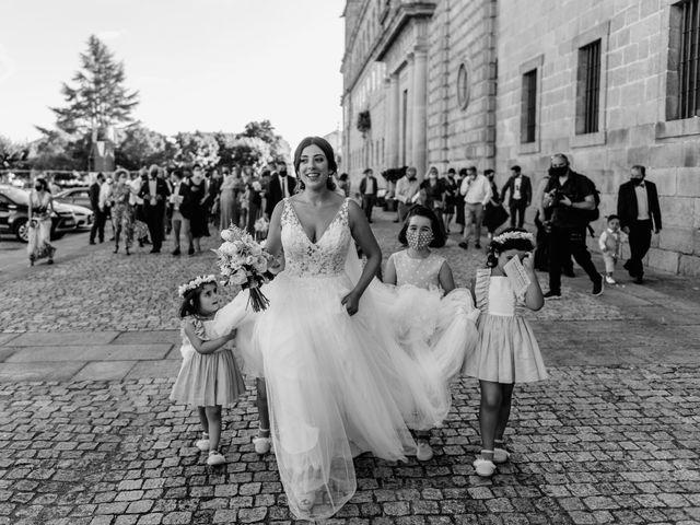 La boda de Cristina y Diego en Monforte de Lemos, Lugo 1