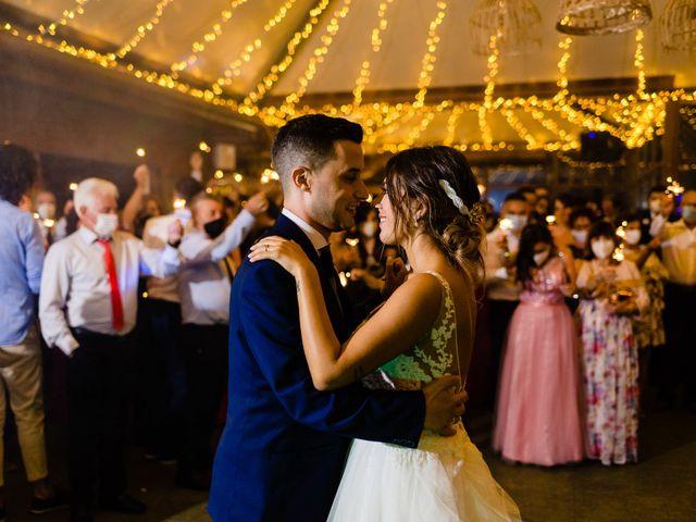 La boda de Cristina y Diego en Monforte de Lemos, Lugo 85