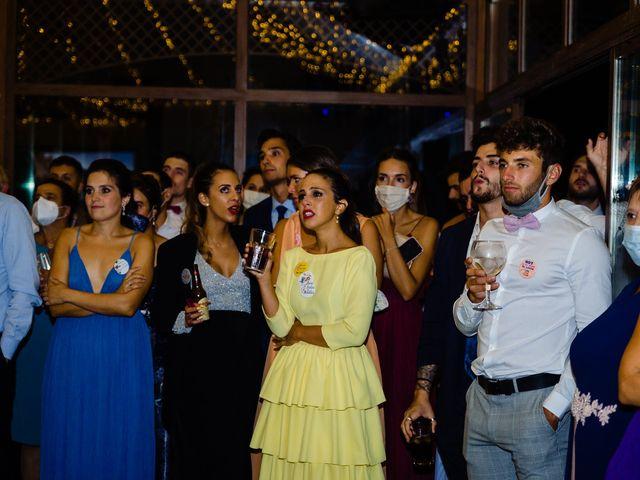 La boda de Cristina y Diego en Monforte de Lemos, Lugo 87