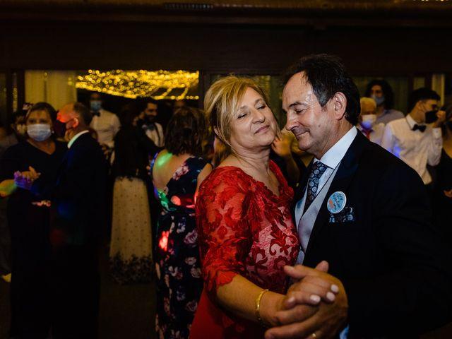 La boda de Cristina y Diego en Monforte de Lemos, Lugo 90