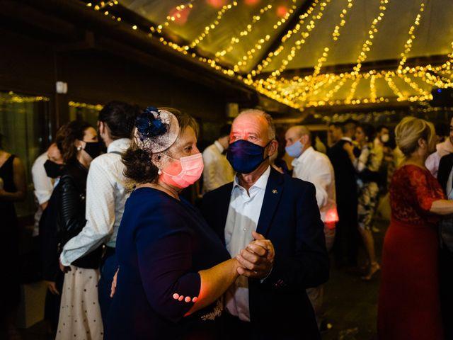 La boda de Cristina y Diego en Monforte de Lemos, Lugo 91
