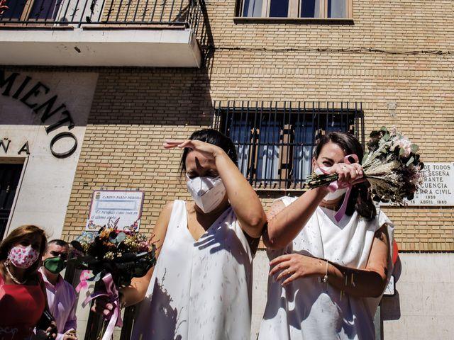 La boda de Marta y Irene en Illescas, Toledo 34