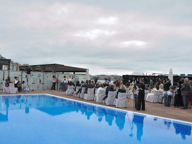 La boda de Álvaro y Eulalia en Gijón, Asturias 1