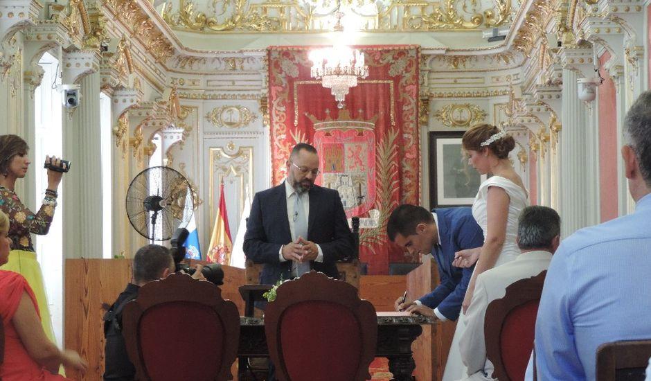 La boda de Javier y Jessica  en Las Palmas De Gran Canaria, Las Palmas