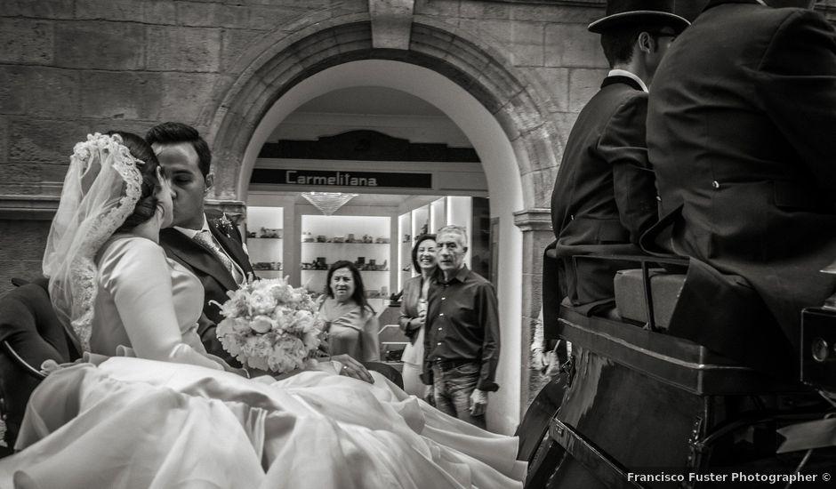 La boda de Eloy y Paola en Santomera, Murcia