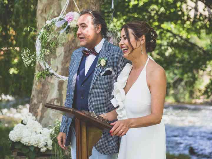 La boda de Carme y Pere