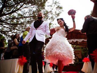 La boda de Eduard Vidal y Alexandra Domenech