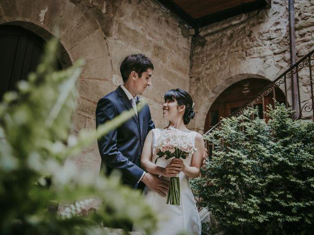 La boda de Saori y Victor