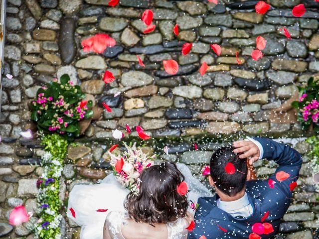 La boda de Fabio y Marta en Sahun, Huesca 1