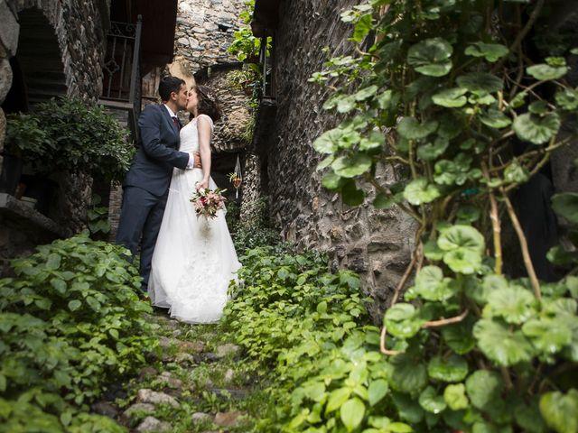 La boda de Fabio y Marta en Sahun, Huesca 6