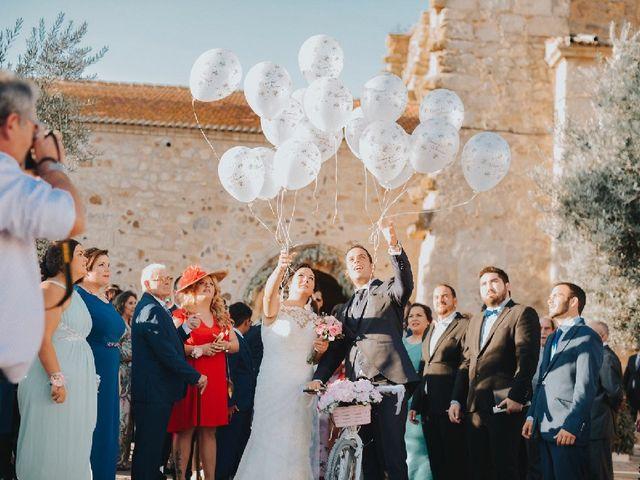 La boda de Mario  y Amparo en Valdetorres, Badajoz 1