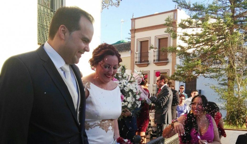 La boda de Elena y Manuel y Elena  en Mairena Del Alcor, Sevilla