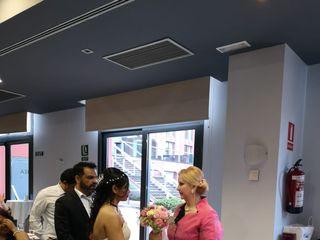 La boda de Rojina  y Nir 1