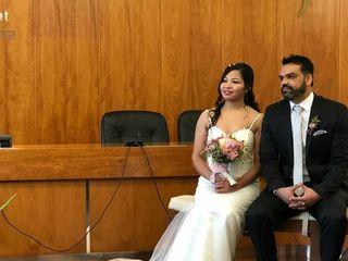 La boda de Rojina  y Nir 2