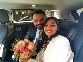La boda de Rojina  y Nir
