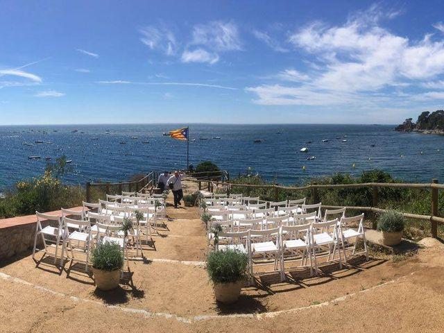 La boda de Jordi y Olga en Calella De Palafrugell, Girona 1