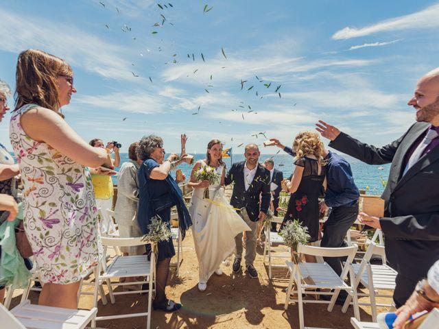 La boda de Jordi y Olga en Calella De Palafrugell, Girona 7