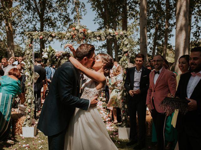 La boda de Adrián y Cristina en Torquemada, Palencia 20