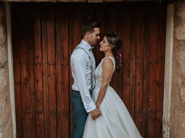 La boda de Adrián y Cristina en Torquemada, Palencia 28