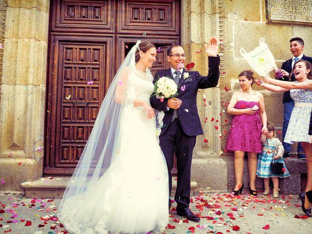 La boda de Daniel y Olga en Valdastillas, Cáceres 26
