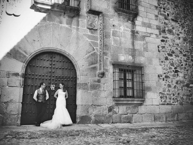 La boda de Daniel y Olga en Valdastillas, Cáceres 44