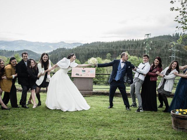 La boda de Oscar y Judith en Idiazabal, Guipúzcoa 42