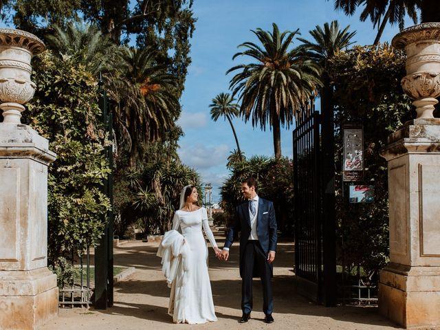 La boda de Juanma y MªPaz en Torre De La Reina, Sevilla 36