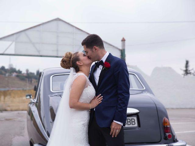 La boda de Jorge y Nayara en Alhaurin De La Torre, Málaga 35