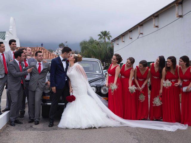 La boda de Jorge y Nayara en Alhaurin De La Torre, Málaga 36