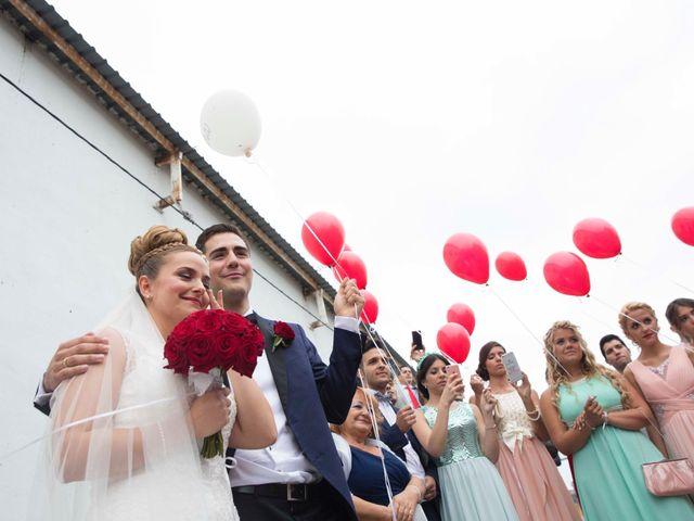 La boda de Jorge y Nayara en Alhaurin De La Torre, Málaga 40