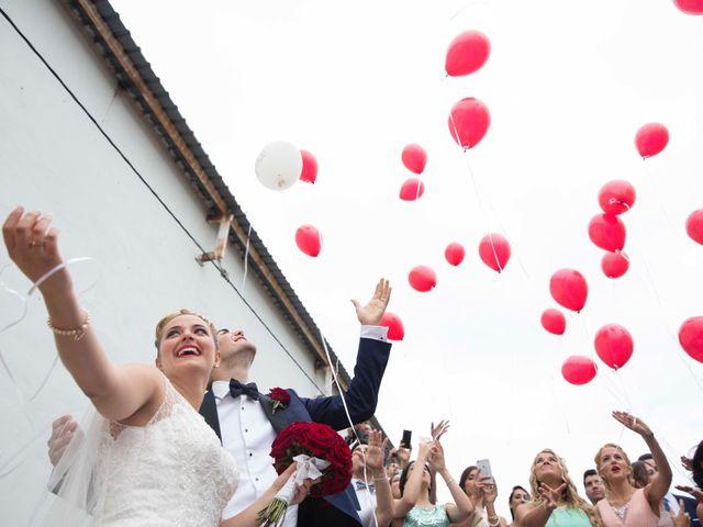 La boda de Jorge y Nayara en Alhaurin De La Torre, Málaga 41