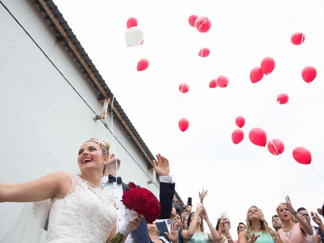 La boda de Jorge y Nayara en Alhaurin De La Torre, Málaga 42