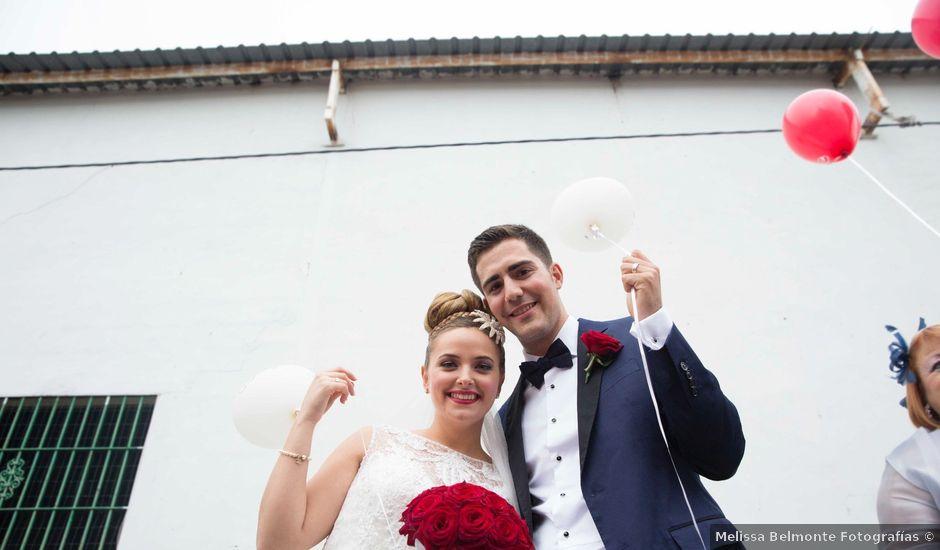 La boda de Jorge y Nayara en Alhaurin De La Torre, Málaga