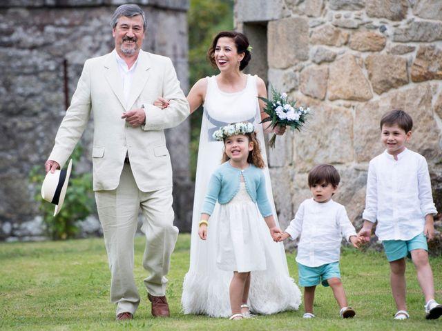 La boda de Camilo y Saleta en Moraña (San Lourenzo), Pontevedra 18