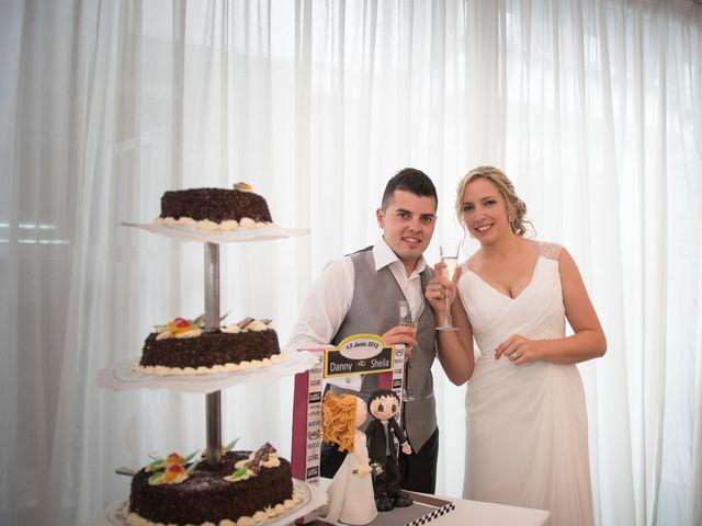La boda de Dani y Sheila en Viveiro (Casco Urbano), Lugo 35