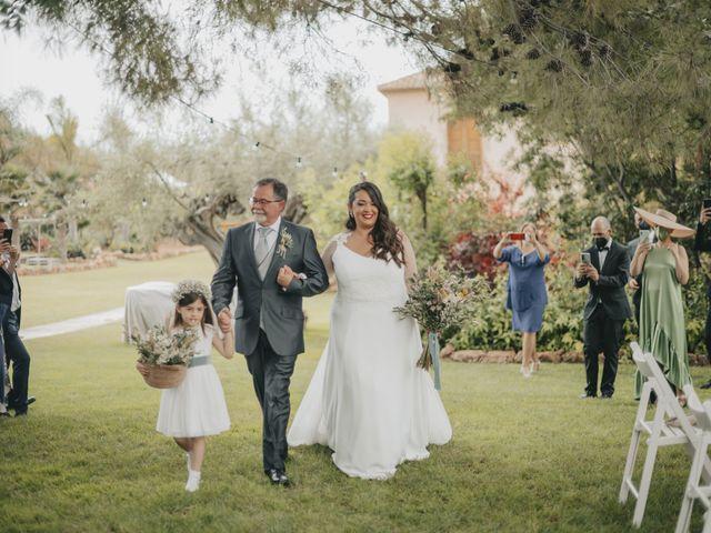 La boda de Paula y Jose en Segorbe, Castellón 61
