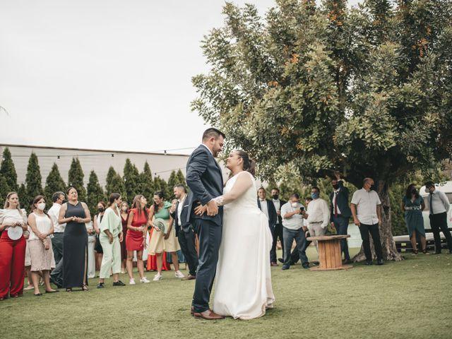 La boda de Paula y Jose en Segorbe, Castellón 131