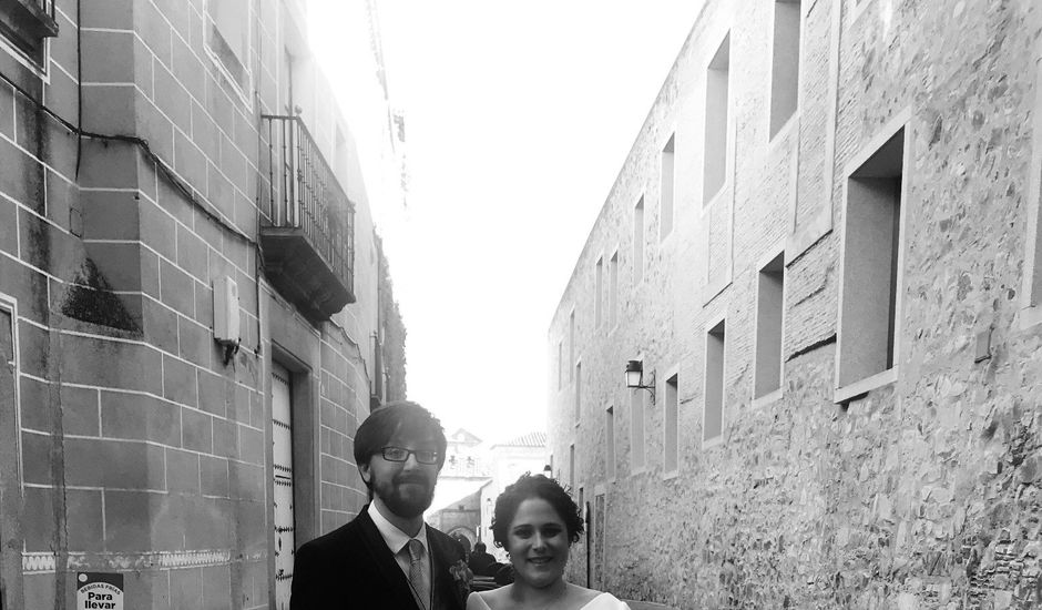 La boda de Esther y Lorenzo en Cáceres, Cáceres