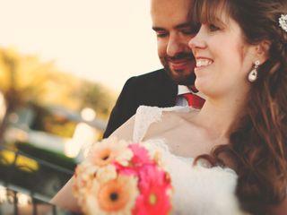 La boda de Orla y Antonio
