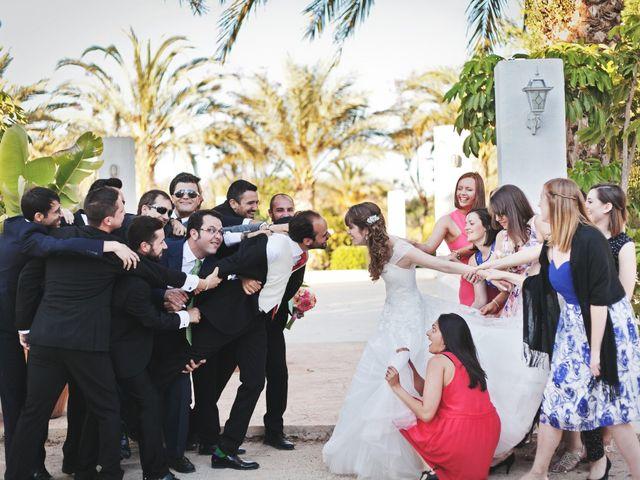 La boda de Antonio y Orla en Elx/elche, Alicante 2