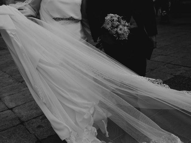 La boda de David y Alba en Burgos, Burgos 1
