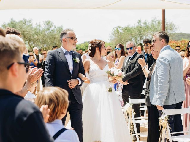 La boda de Robert y Aina en Llofriu, Girona 49