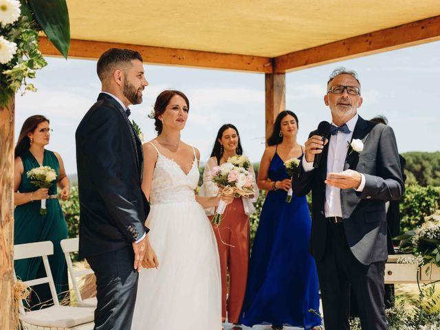 La boda de Robert y Aina en Llofriu, Girona 50